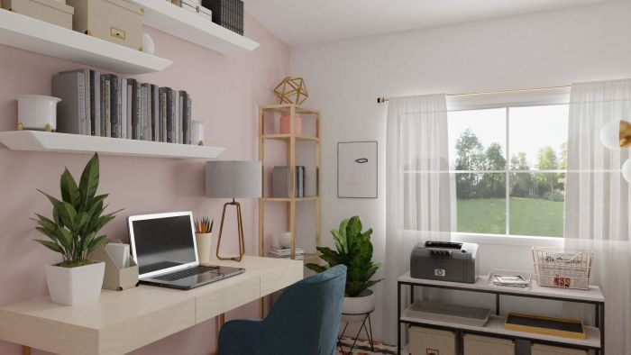 Spacejoy review of Home Office Designed For Adriana Pachas 2