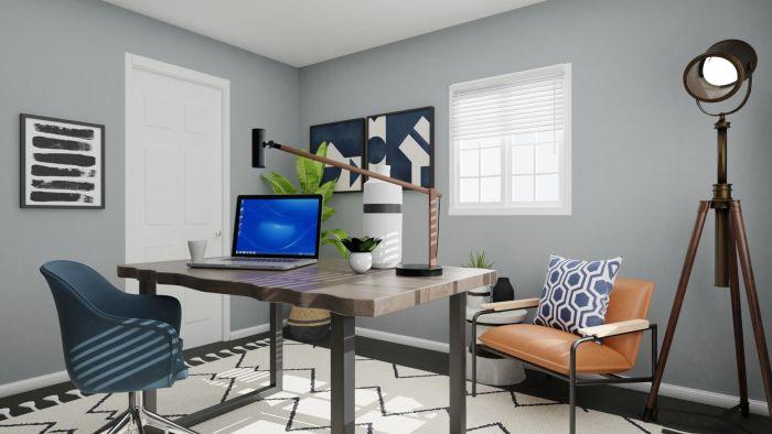Spacejoy Modern Calm Office Design