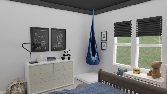 Space Inspired: Urban Transitional Kid's Room Design View 2 By Spacejoy