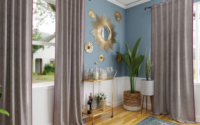 Mixing Vintage Pieces: Eclectic Glam Dining room Design View 2 By Spacejoy