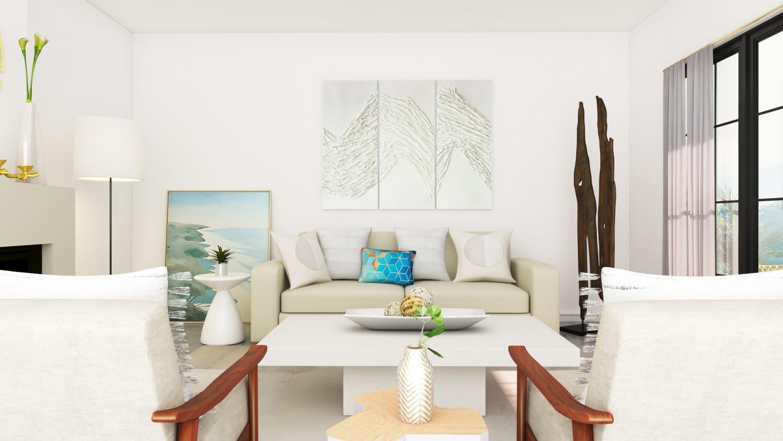 Spacejoy Minimal Living Room