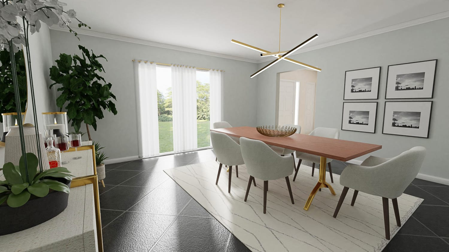 Spacejoy review of Dining Room Designed For Jade