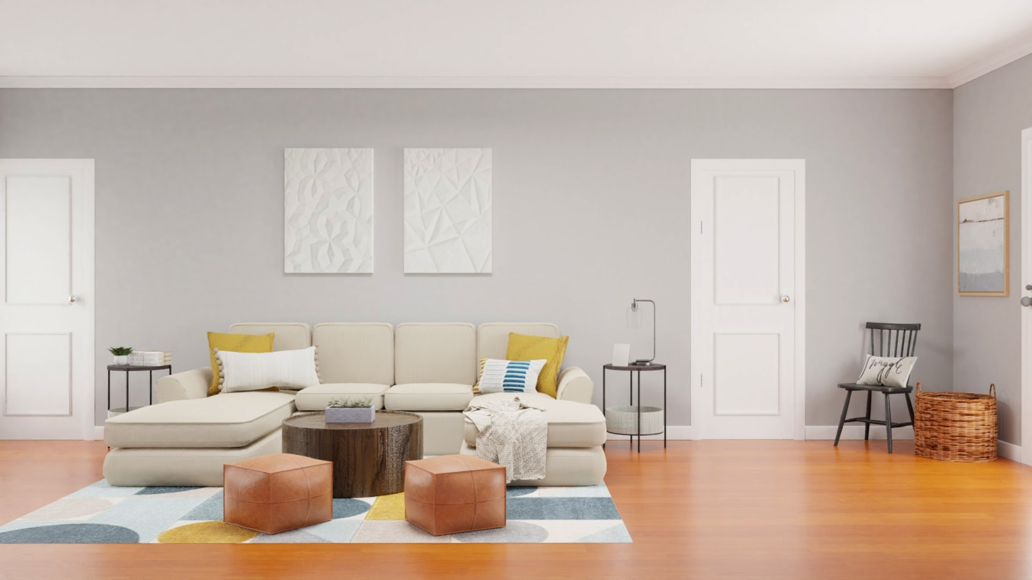 Spacejoy review of Living Room Designed For Stephanie Miles