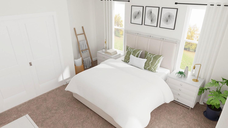 Coastal Casual Bedroom