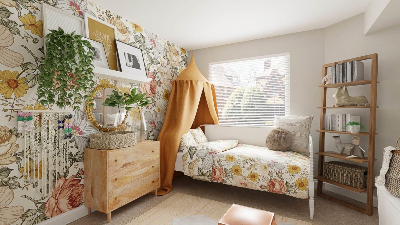 Spacejoy Children's Bedroom Design