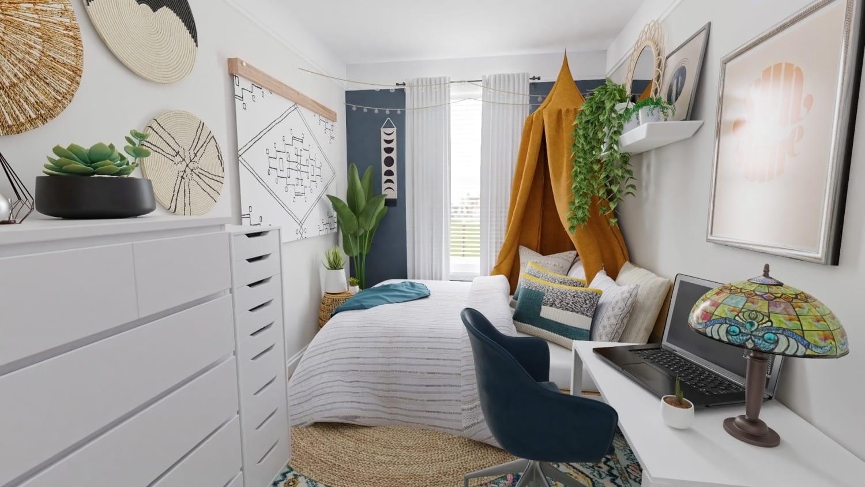 Modern Tiny Bedroom