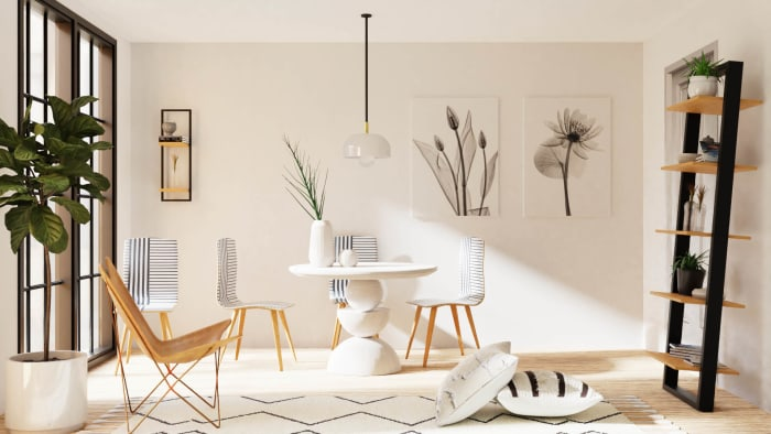 Black+White: Urban Minimalist Home Design View 2 By Spacejoy