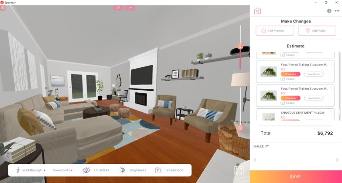 3D Design For Stephanie Miles New Living Room View 2