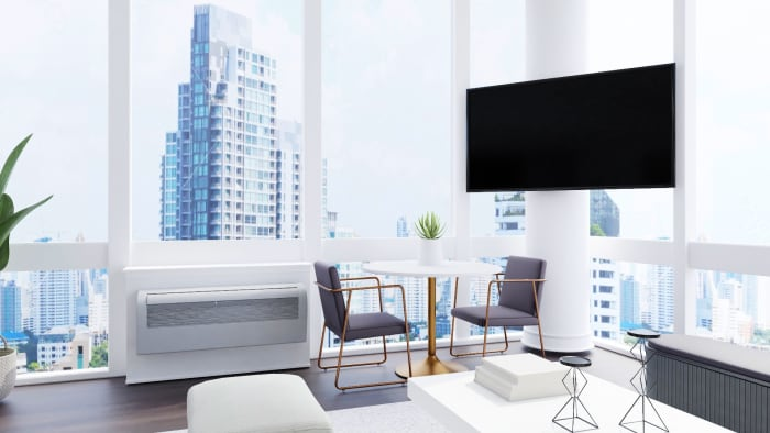 Black and White: Modern Industrial Living Room Design View 4 By Spacejoy