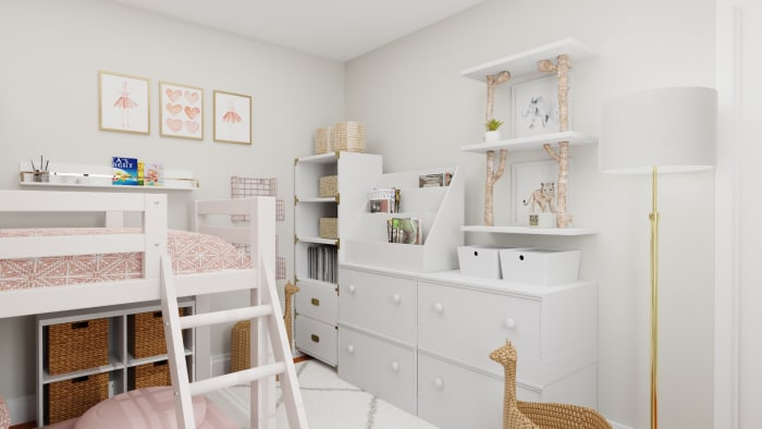 The Most Functional & Adorable Kids Bedroom Design Design View 3 By Spacejoy