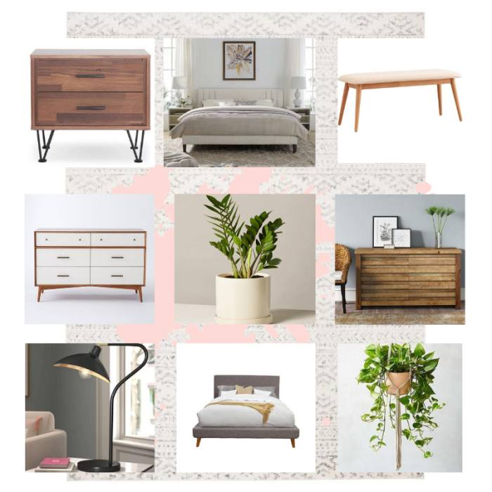 Bedroom Moodboard Created For Kayla Hoener