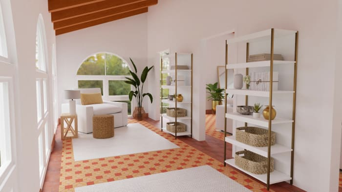 Neutral Elegant Living Room Design View 5 By Spacejoy
