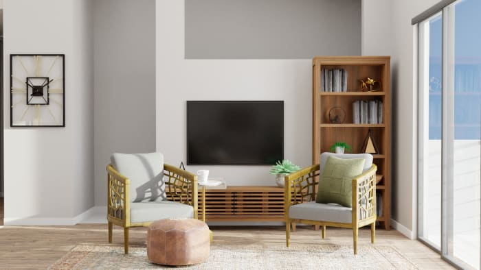 A Pinterest-Worthy Intriguing Open Living Room Design View 5 By Spacejoy