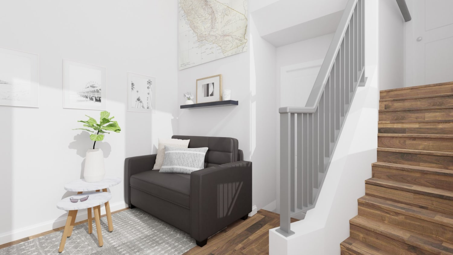 Small Spaces: Scandinavian Living Room Design By Spacejoy