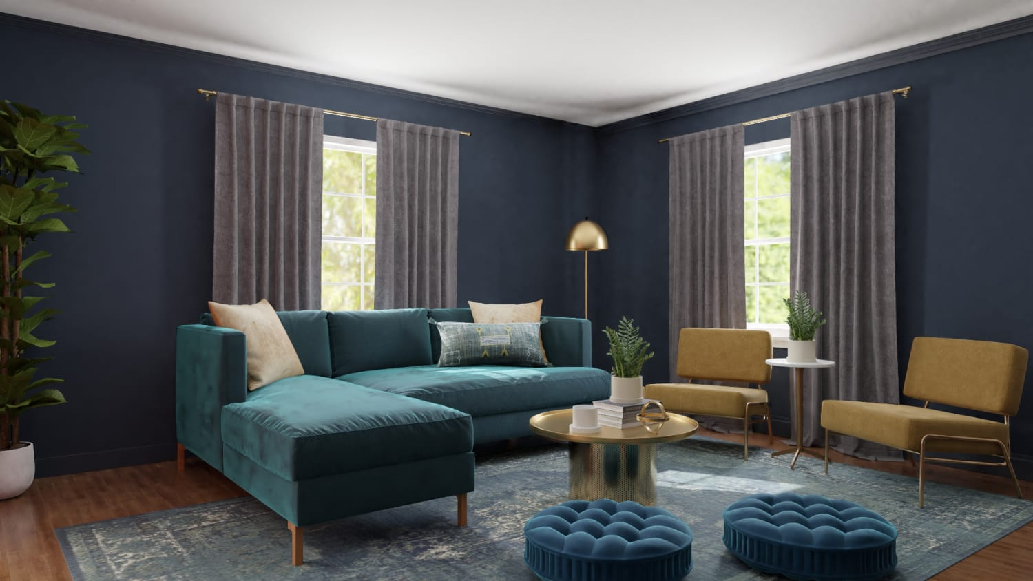 Spacejoy review of Living Room Designed For Lynette