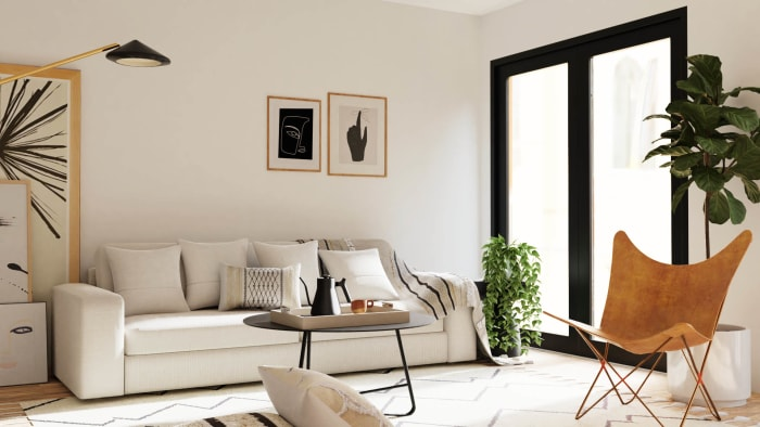 Black+White: Urban Minimalist Home Design View 3 By Spacejoy