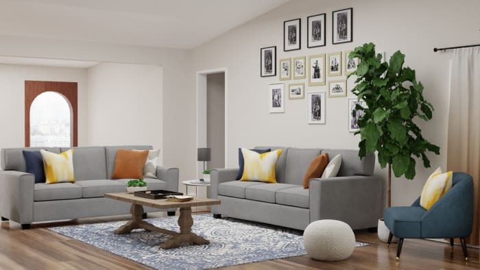 Spacejoy review of Living Room Designed For Shanice 2