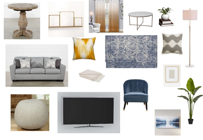 Living Room Moodboard Created For Shanice