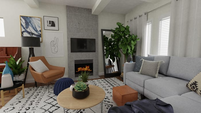 Spacejoy review of Living Room Designed For Zoe 2