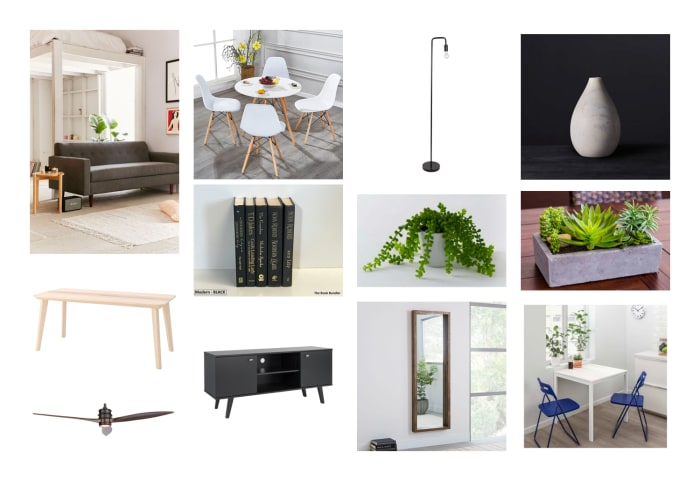 Living Room Moodboard Created For Christov Alexio