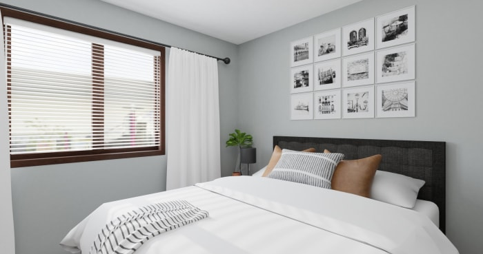 Best Dorm Room Idea Urban Minimalist Bedroom Design By Spacejoy