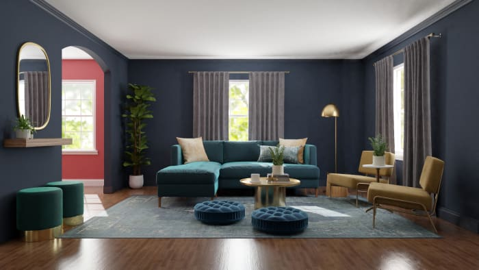 Spacejoy review of Living Room Designed For Lynette 2