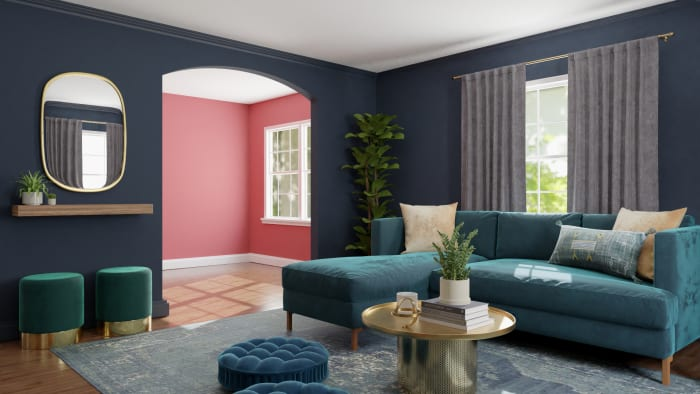 Spacejoy review of Living Room Designed For Lynette 4