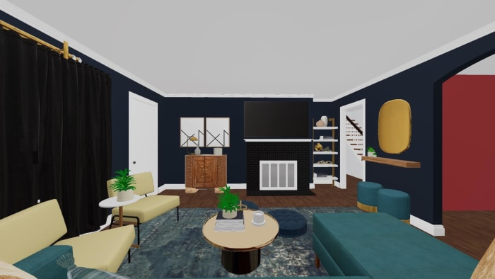 3D Design For Lynette New Living Room View 2