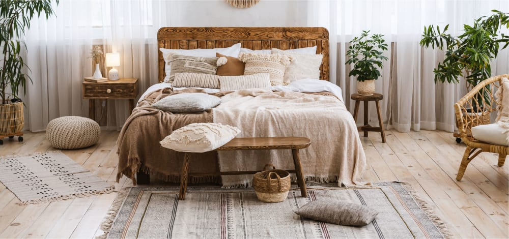 Rustic Bedroom Design Ideas by Spacejoy