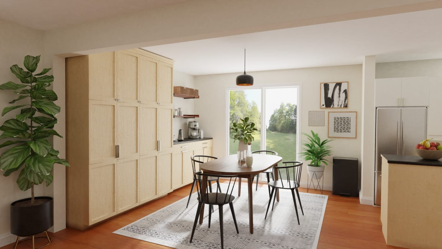 Spacejoy review of Dining Room Designed For Amanda