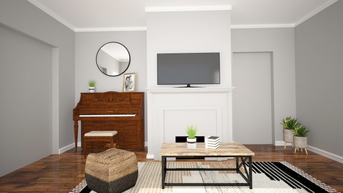 Spacejoy review of Living Room Designed For Trinity 2