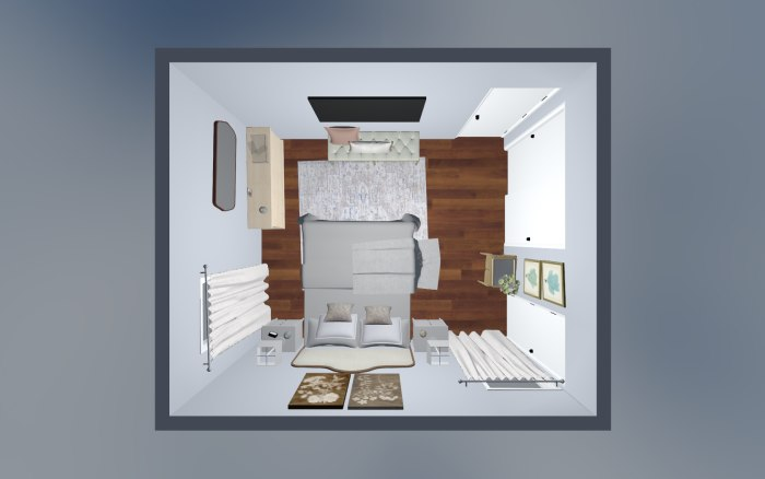 3D Design For Caroline New Bedroom View 2
