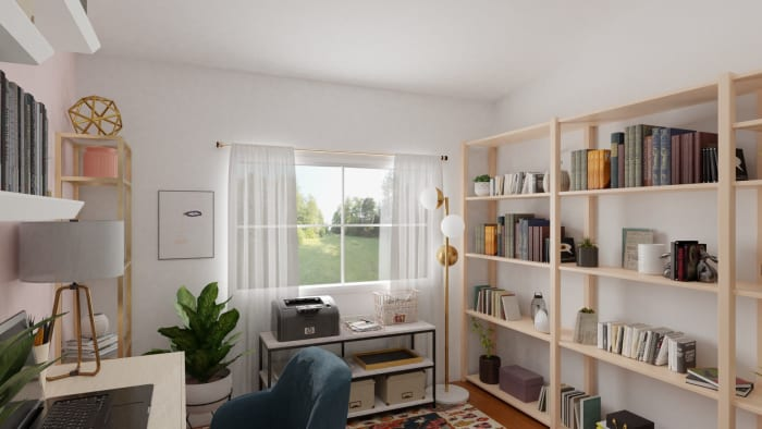 Spacejoy review of Home Office Designed For Adriana Pachas 3