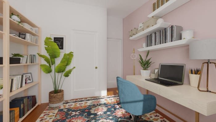 Spacejoy review of Home Office Designed For Adriana Pachas 4