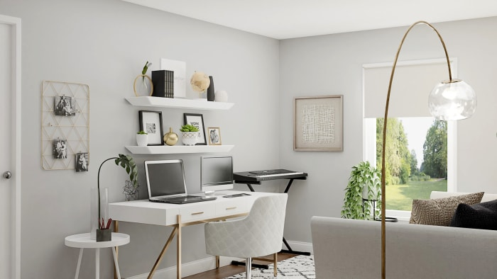 Spacejoy review of Home Office Designed For Mackenzie Hesler 3