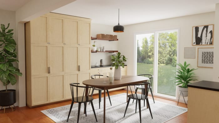 Spacejoy review of Dining Room Designed For Amanda 2