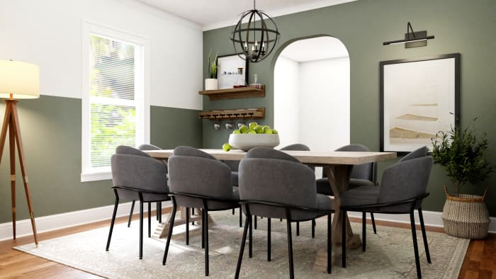 A Dining Room Worthy of Gatherings Design View 2 By Spacejoy