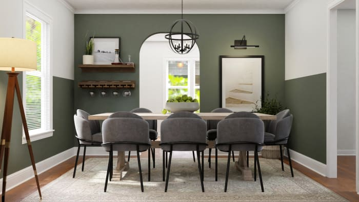 A Dining Room Worthy of Gatherings Design View 3 By Spacejoy