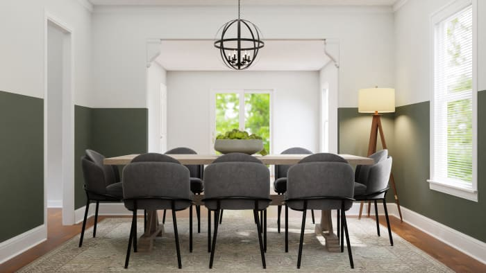 A Dining Room Worthy of Gatherings Design View 4 By Spacejoy