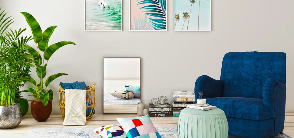 Splash of Summer in Your Living Room by Spacejoy