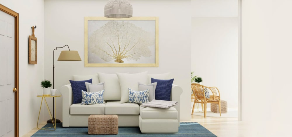 Chic Living Room Design Ideas by Spacejoy