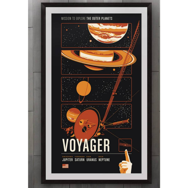 robotic space poster