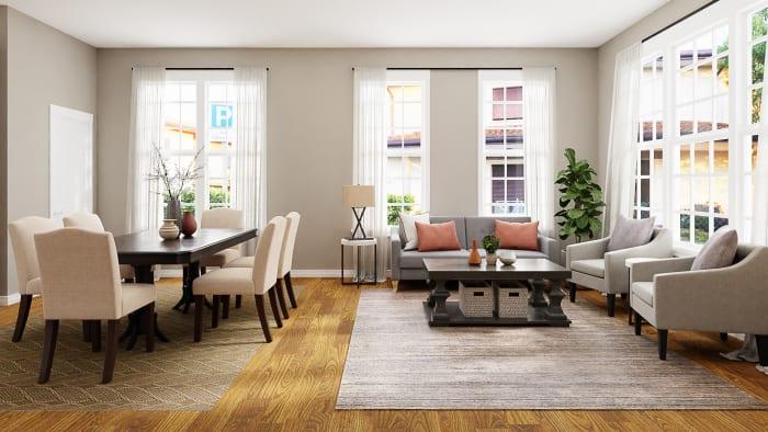 Dining Room Interior Design Ideas, Living Room And Dining Room
