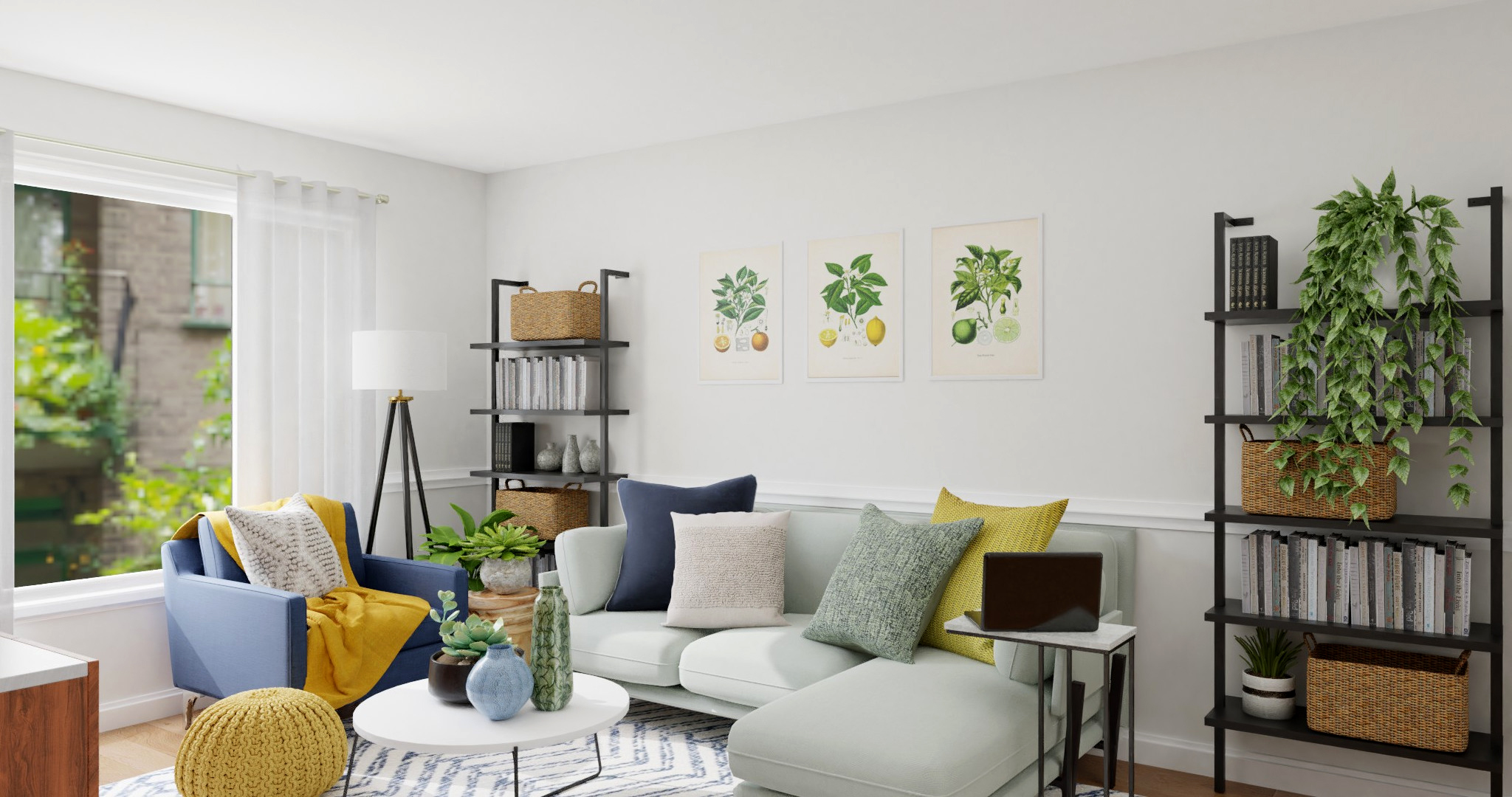 7 Living Room Decor Ideas To Freshen Up Your Home S Look And Feel For Spring Spacejoy