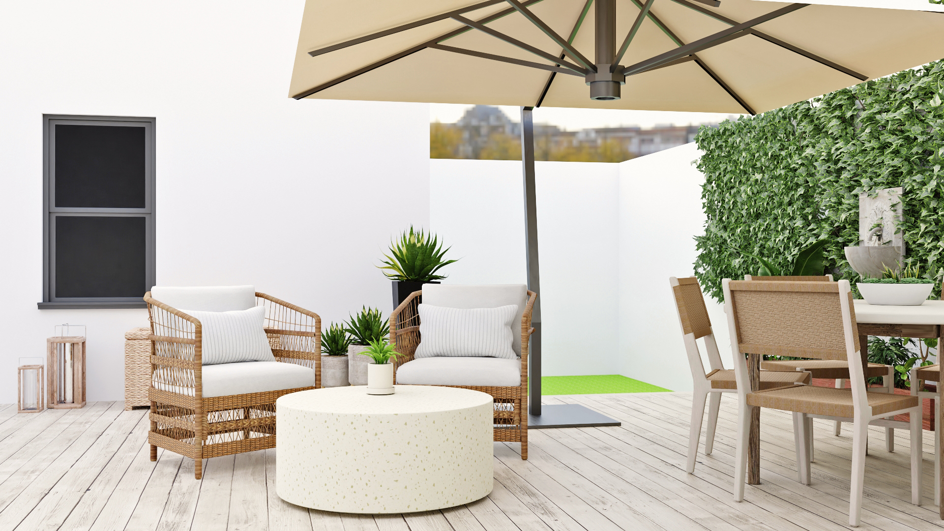 Your Summer Just Got A Whole Lot Cooler Thanks To These Boho Patio Design Ideas Spacejoy