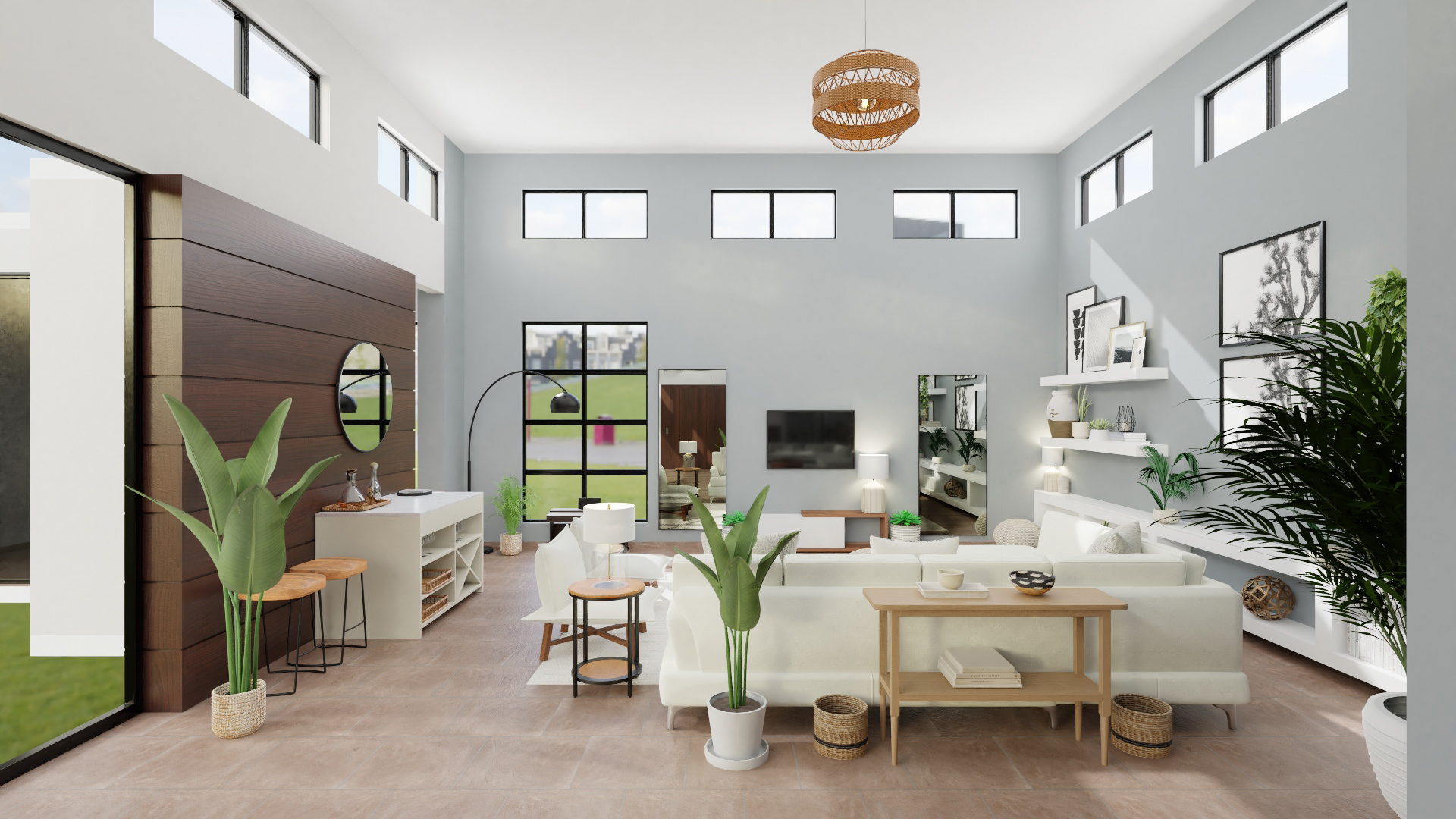 Modern Spacejoy Living Room