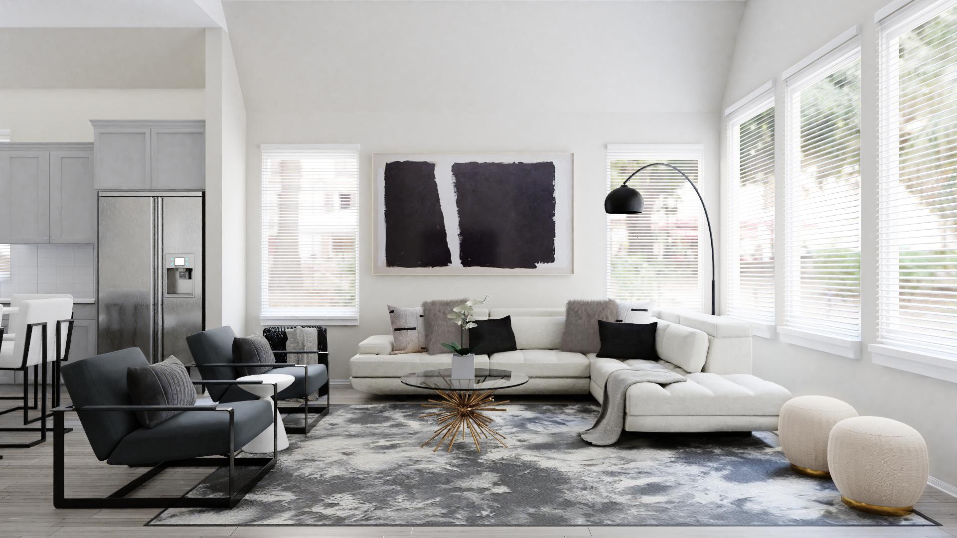 Minimal Modern Living Room