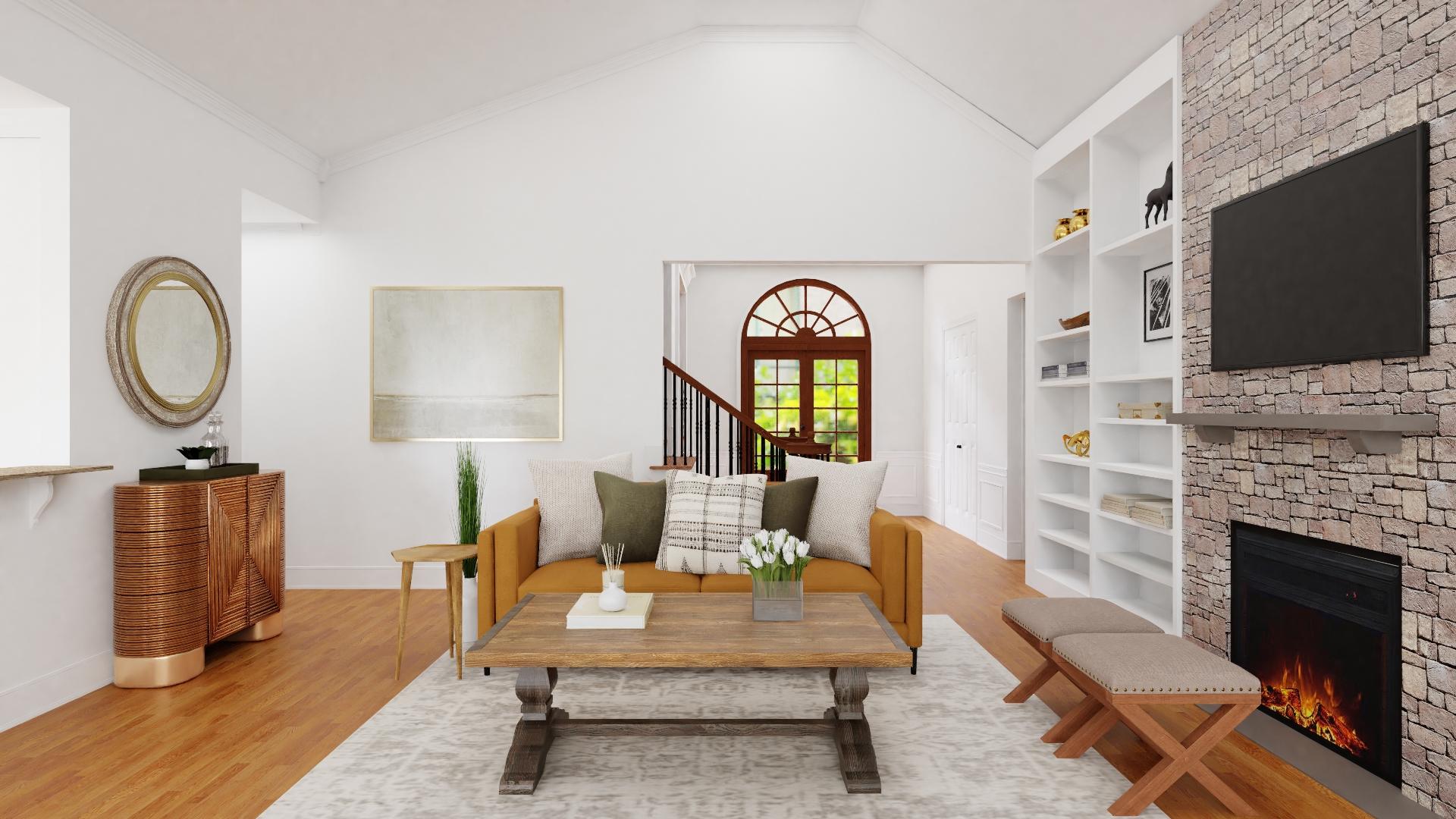 Spacejoy Living Room Design