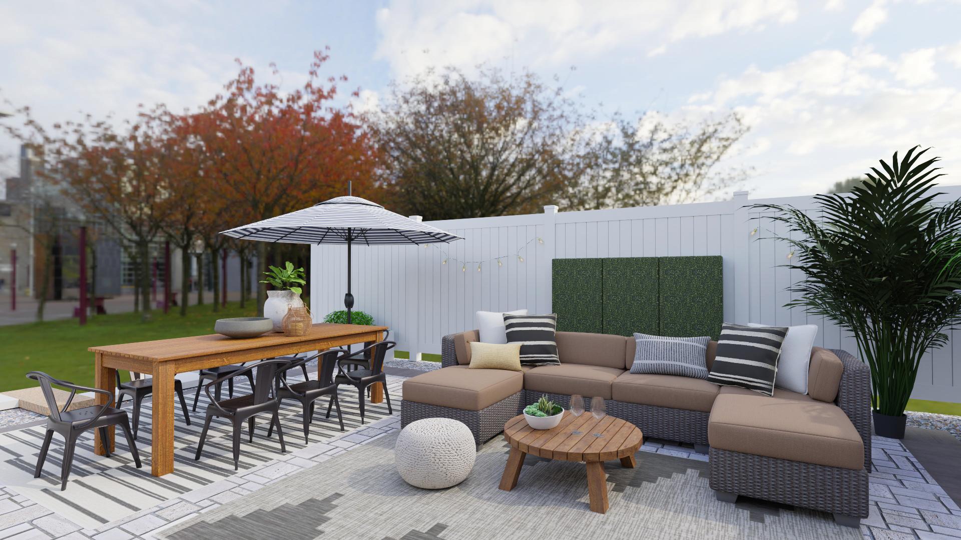 Spacejoy Modern Outdoor Design