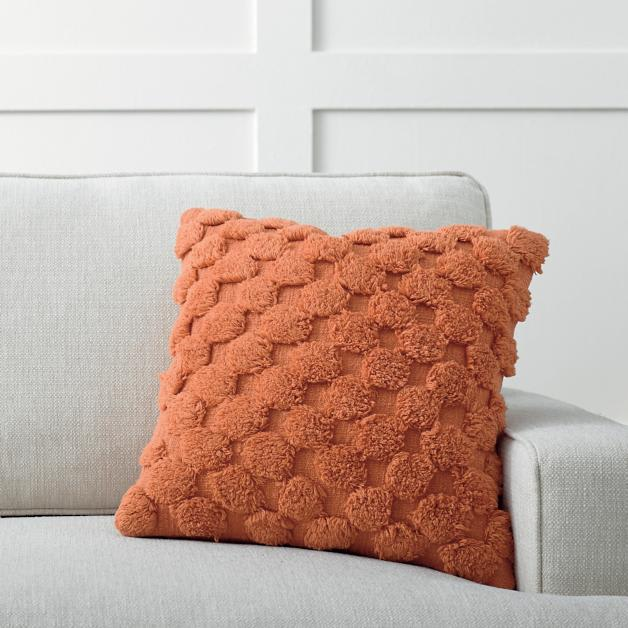 Tufted Dot Pillow from Grandin Road